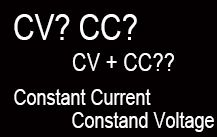 What are CV, CC, and CV+CC in LED Power Supply Specification