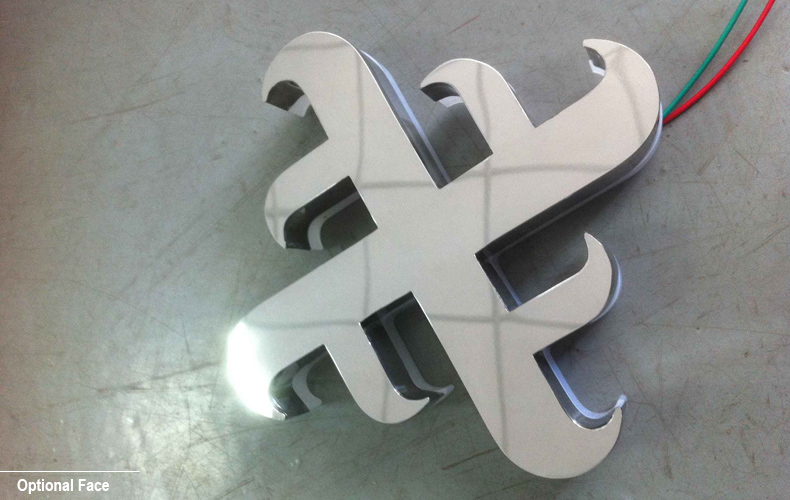 Supply-Acrylic-Metal-Reverse-Lit-LED-Channel-Letter-Sign