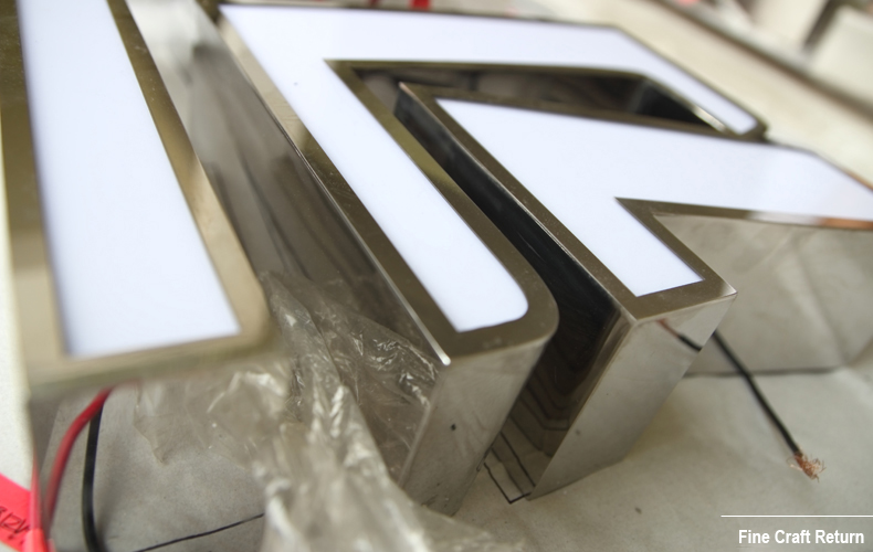 Acrylic-Face-Lit-Channel-Letters-Stainless-Steel-Return-details