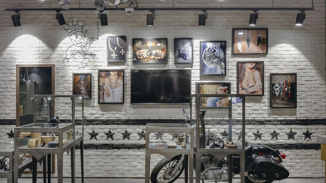 retail shop design kiosk design lighting project