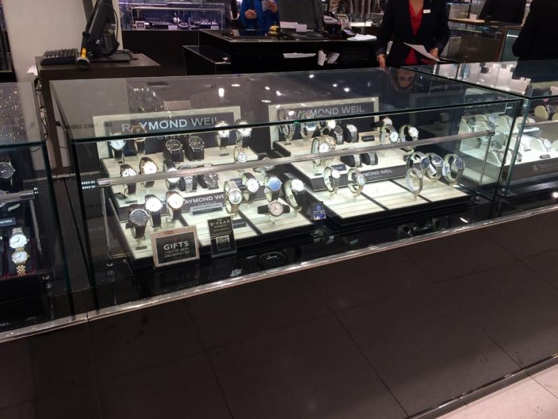 Gantry profile luminaries Column lighting bar LED Cabinet Display Spotlight Post Lamp for Jewelry Shop Counters