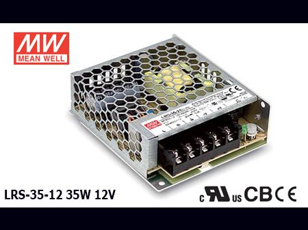 LRS-35-12 Original Taiwan Mean Well Switching Power Supply