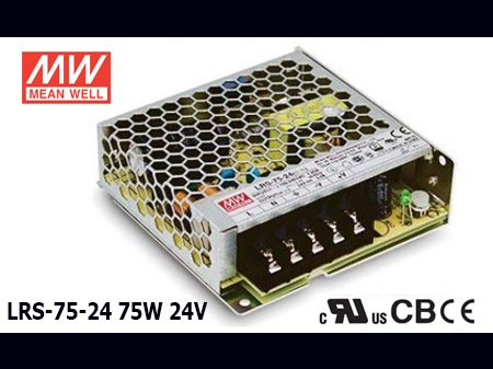 LRS-75-24 Original Taiwan Mean Well Switching Power Supply