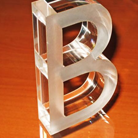 Laser Cut Acrylic Logo For Shop Counters Image Wall Shop