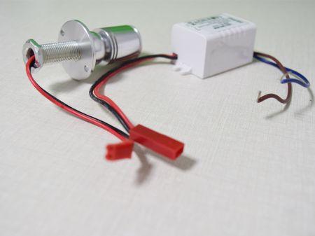  1W LED Mini Bovine Eye Lamp Recessed Downlight for Jewellery Shop