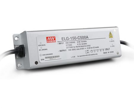 ELG-150-C series Waterproof Original Taiwan Mean Well AC to DC Driver LED Power Supply