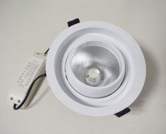 COB ceiling recessed ligh Anti-glare downlight Die casting frame commercial lighting fixture