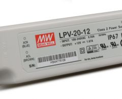 LPV-20 series Waterproof Original Taiwan Mean Well AC to DC Switching LED Power Supply