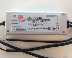 ELG-75-series Waterproof Original Taiwan Mean Well AC to DC Driver LED Power Supply