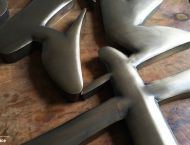 Antique Bronze Stainless Steel Letters Flat or Round Face